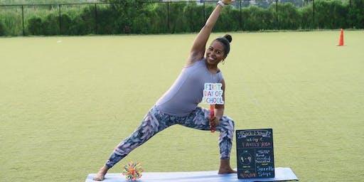 Back To School Family Yoga Soirée