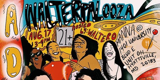 Walterpalooza • Presented by Adobo DMV