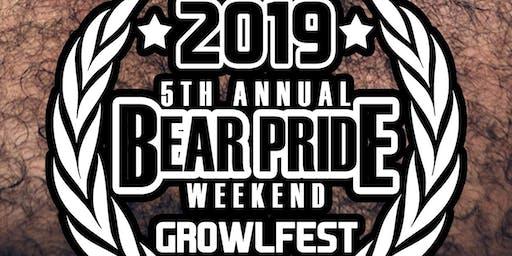 Growlfest 2019: 5th Annual Bear Pride Weekend