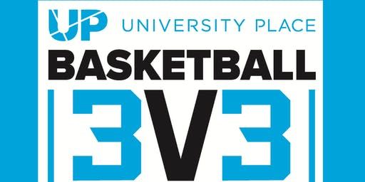 Adult 3-on-3 Basketball Tournament at University Place