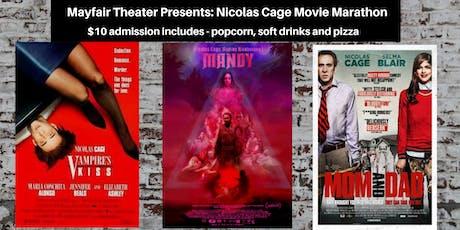 Mayfair Nick Cage Movie Marathon tickets