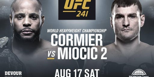 UFC 241 Cormier vs Miocic 2- Auburn, WA- Watch Party