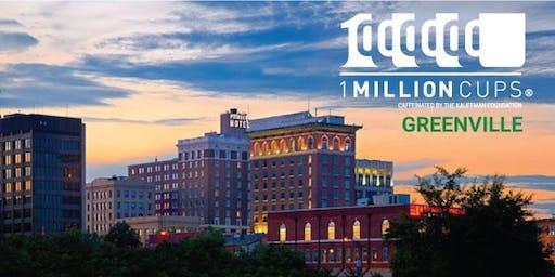 1 Million Cups - Greenville, SC #1mc #1mcgvl - August 21, 2019