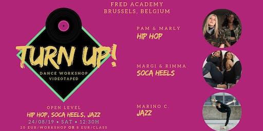 Dance Workshop (hip-hop, soca heels, jazz)