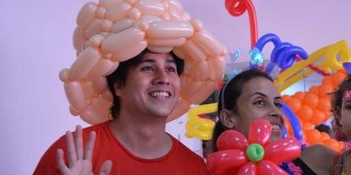 Bola mania - Esculturas de Balões