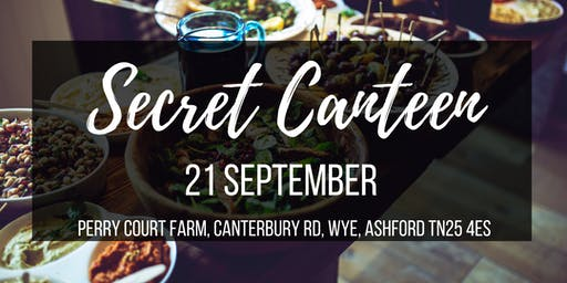 Secret Canteen - popup restaurant near Ashford