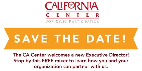 California Center for Civic Participation Welcome Mixer tickets
