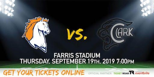 Brandeis vs Clark Varsity Football
