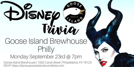 Disney Trivia at Goose Island Brewhouse Philly tickets