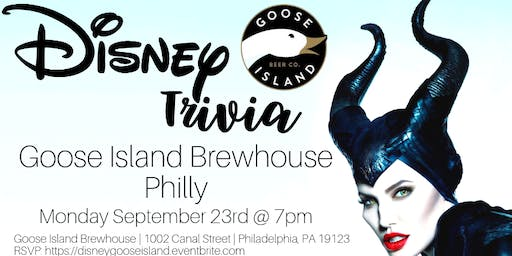 Disney Trivia at Goose Island Brewhouse Philly