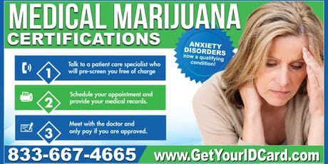 Medical Marijuana Certifications Uniontown tickets
