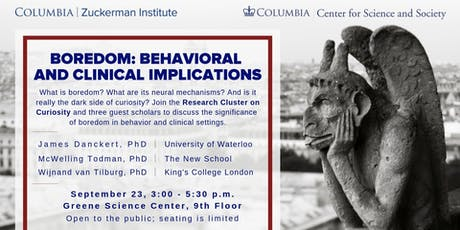 Boredom: Behavioral and Clinical Implications tickets