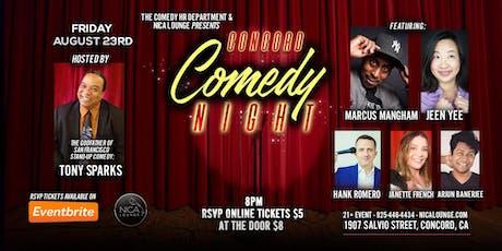Concord Comedy Night LIVE! tickets