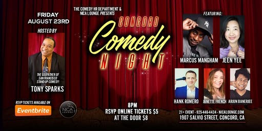Concord Comedy Night LIVE!