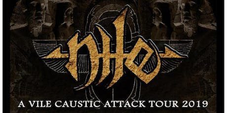 Nile - A Vile Caustic Attack Tour tickets