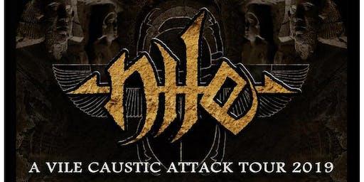 Nile - A Vile Caustic Attack Tour