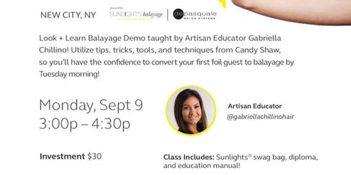 Look & Learn Sunlights Balayage with Gabriella Chillino