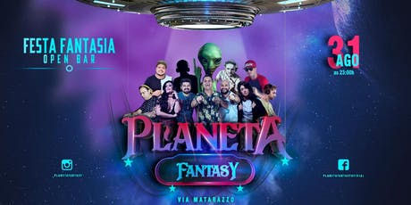 Planeta Fantasy - Festa à fantasia Open Bar tickets