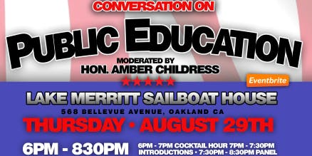 Black Elected Officials of the East Bay: Conversation on Public Education