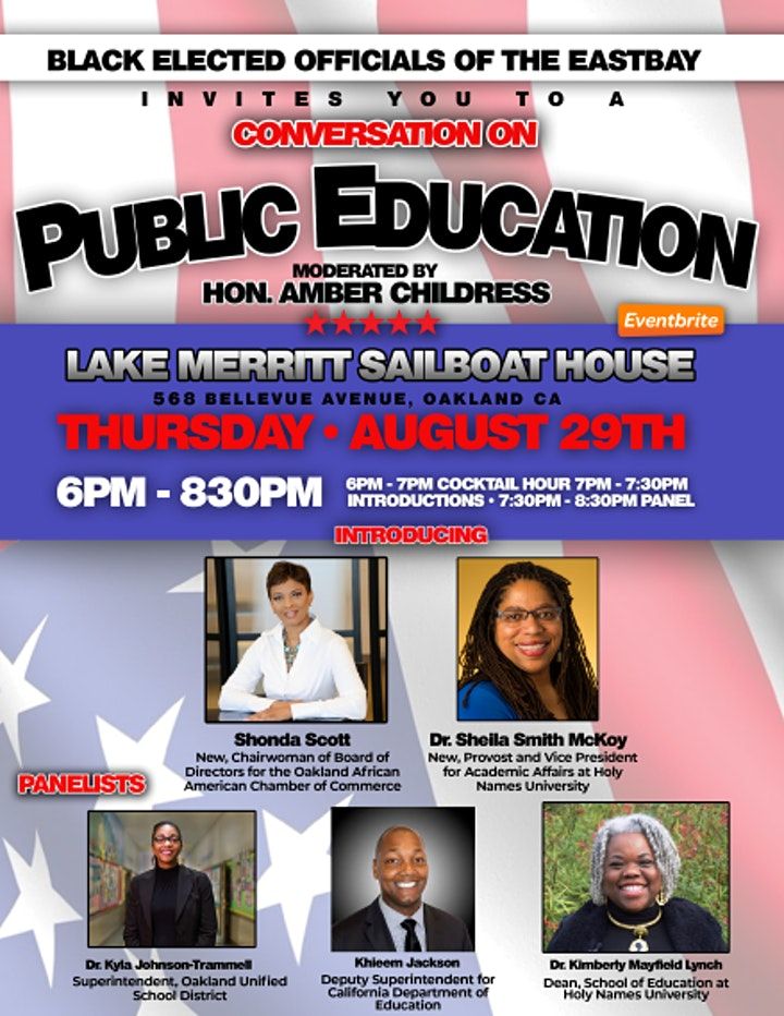 Black Elected Officials of the East Bay: Conversation on Public Education image