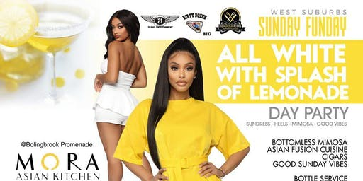 whiteWest Suburbs Sunday Funday All White & Lemonade Day Party