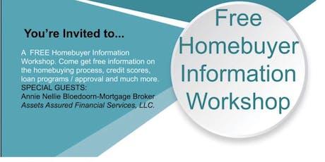 Free Homebuyer Information Workshop tickets