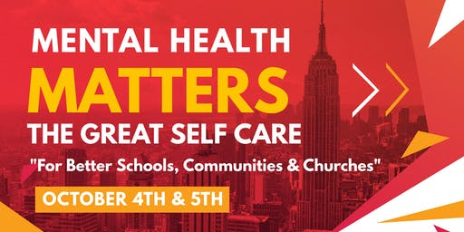 Mental Health Matters Conference 2019