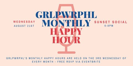 grlpwrphl Monthly Happy Hour tickets