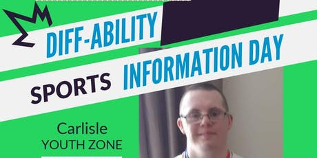 Diff-Ability Sport Information day tickets