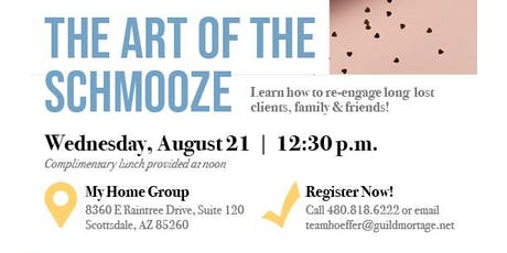 The Art Of The Shmooze- Lunch n Learn tickets