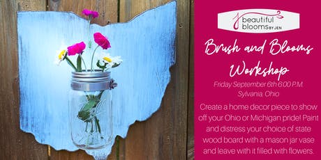Brush and Blooms Workshop tickets