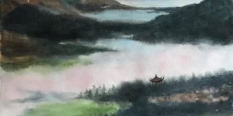 Chinese Style Watercolour Painting Workshop tickets