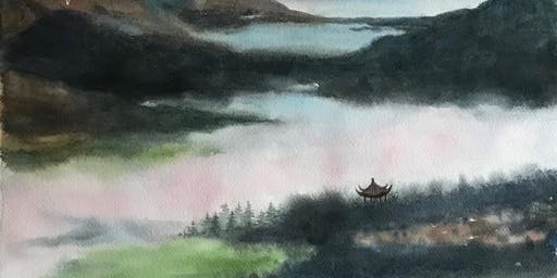 Chinese Style Watercolour Painting Workshop