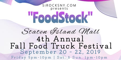 Foodstock 4th Annual SI Fall Food Truck Festival tickets