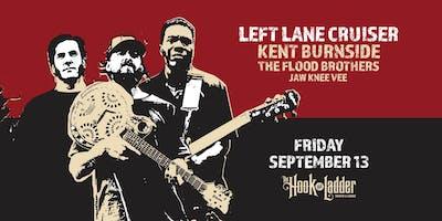 Left Lane Cruiser, Kent Burnside, The Flood Brothers and Jaw Knee Vee
