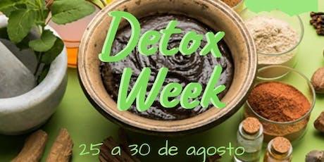 Detox Week ingressos