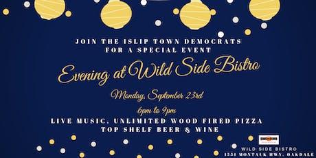 An Evening at Wild Side Bistro tickets