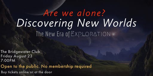 Are We Alone? Discovering New Worlds