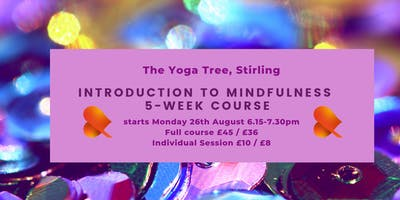 Mindfulness - Working with Emotions - Stirling