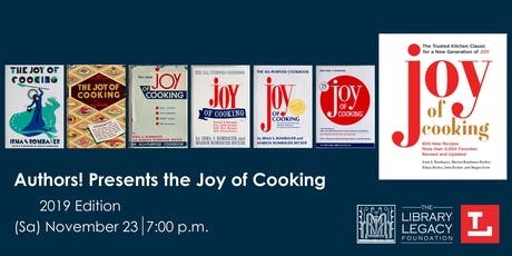 """Authors! presents """"Joy of Cooking""""  tickets"""