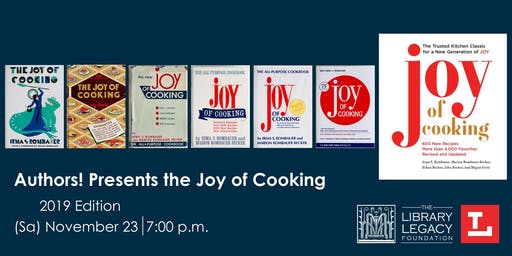 "Authors! presents ""Joy of Cooking"""