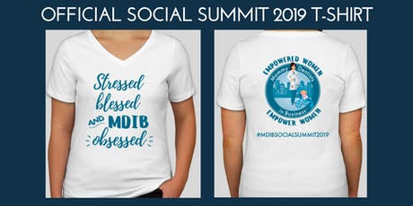 MDIB Social Summit 2019 T-Shirt Order tickets