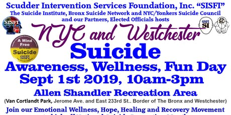 SISFI's NYC and Westchester Suicide Awareness, Wellness, Fun Day tickets