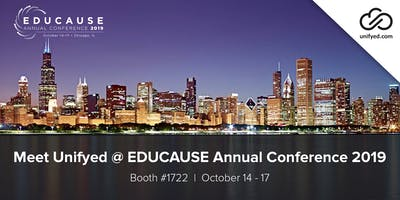 Meet Unifyed @ EDUCAUSE Annual Conference 2019