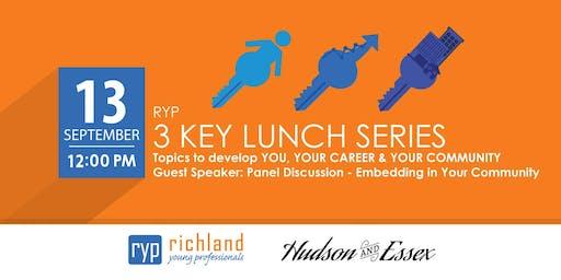 RYP 3 KEY Lunch Series- September