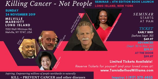 "New York | ""Killing Cancer-Not People"" Seminar 