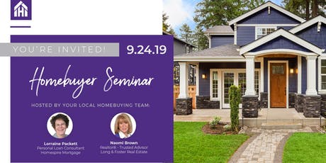 Free Homebuyer Seminar tickets