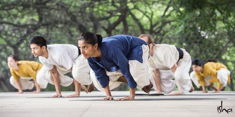 Yogasanas, Isha Hatha Yoga tickets