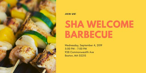 SHA Welcome Barbecue