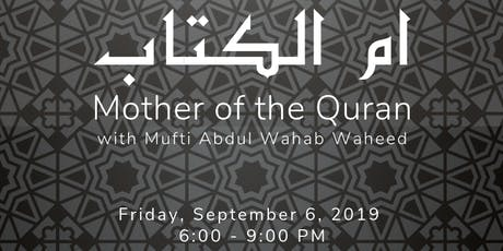 Mother of the Quran - ICD tickets